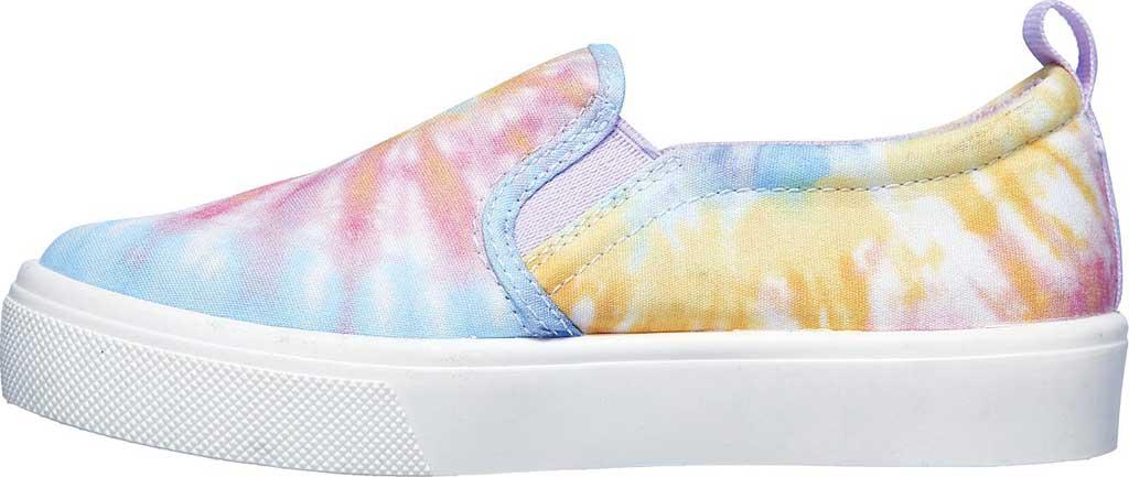 Girls' Skechers Poppy Hippie Hype Sneaker, White/Multi, large, image 3