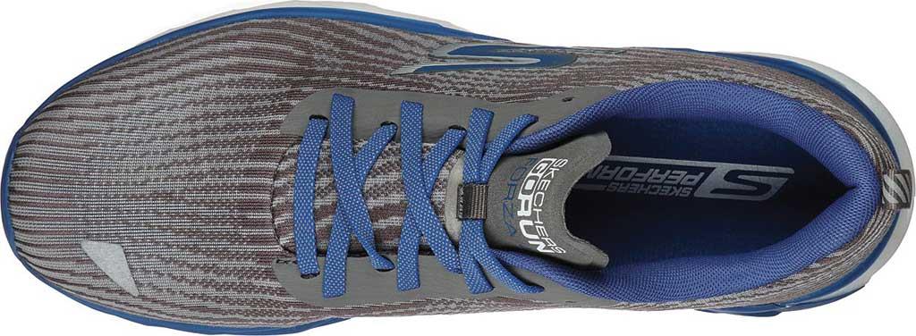 Men's Skechers GOrun Forza 4 Hyper Sneaker, Gray/Blue, large, image 4