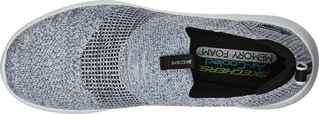 Men's Skechers Ultra Flex 2.0 Mirkon Slip-On, White/Black, large, image 4