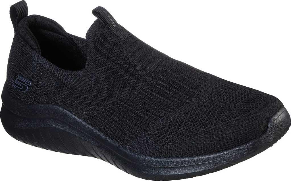 Men's Skechers Ultra Flex 2.0 Mirkon Slip-On, Black, large, image 1