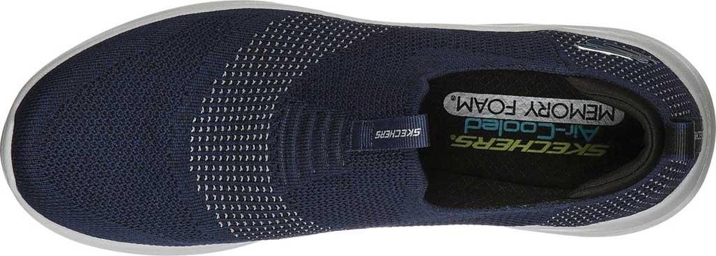Men's Skechers Ultra Flex 2.0 Mirkon Slip-On, Navy, large, image 4