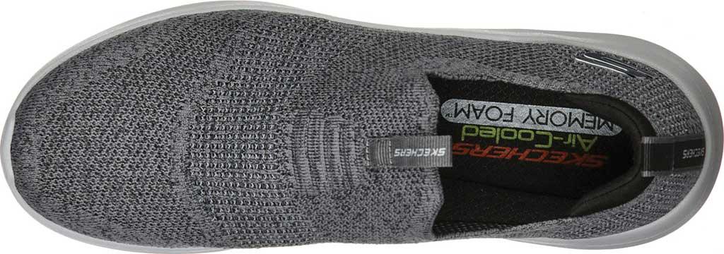 Men's Skechers Ultra Flex 2.0 Mirkon Slip-On, Charcoal/Black, large, image 4