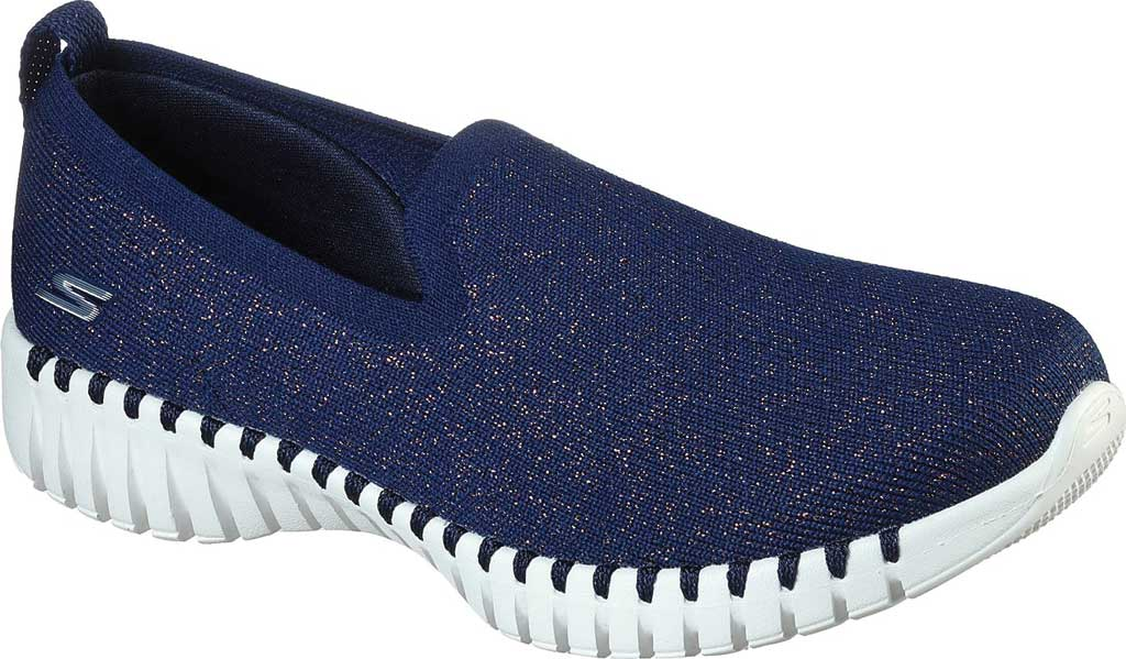 Women's Skechers GOwalk Smart Oracle Slip-On, Navy, large, image 1