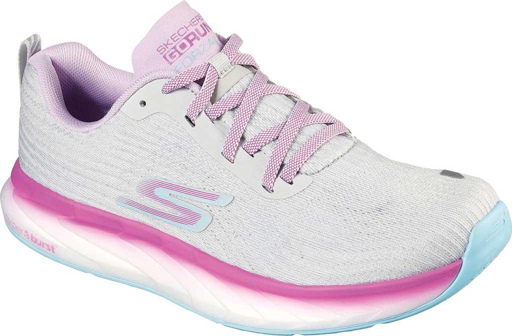 Women's Skechers GOrun Forza 4 Hyper Sneaker, Gray/Multi, large, image 1
