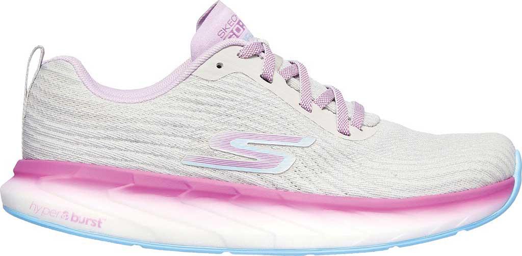 Women's Skechers GOrun Forza 4 Hyper Sneaker, Gray/Multi, large, image 2
