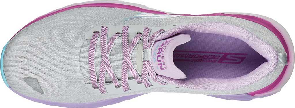 Women's Skechers GOrun Forza 4 Hyper Sneaker, Gray/Multi, large, image 4