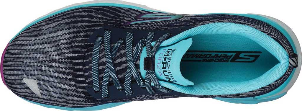 Women's Skechers GOrun Forza 4 Hyper Sneaker, Navy/Multi, large, image 4