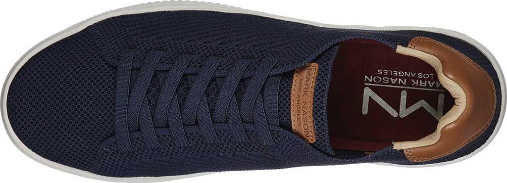 Men's Mark Nason Los Angeles Palmilla Gable Sneakers, Navy, large, image 4