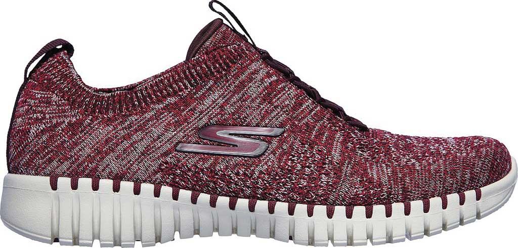 Women's Skechers GOwalk Smart Graceful Sneaker, Burgundy, large, image 2