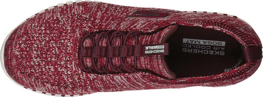 Women's Skechers GOwalk Smart Graceful Sneaker, Burgundy, large, image 4