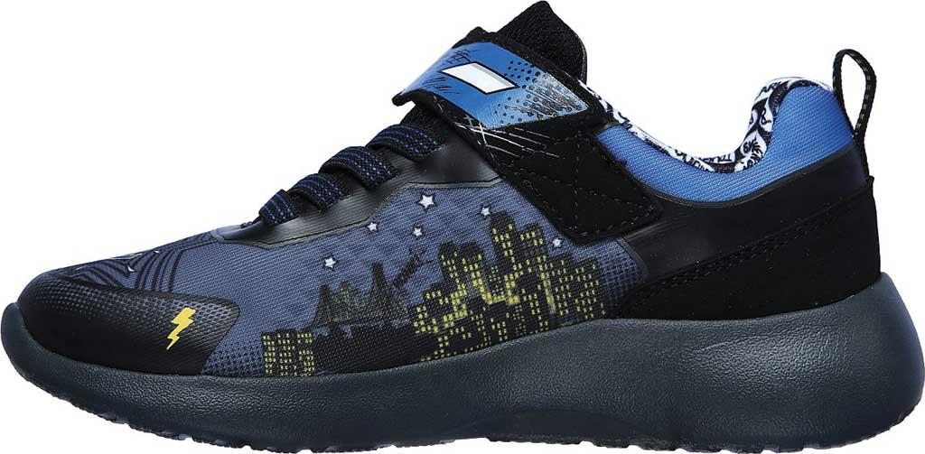 Boys' Skechers Dynamight Defender Squad Sneaker, Charcoal/Black, large, image 3