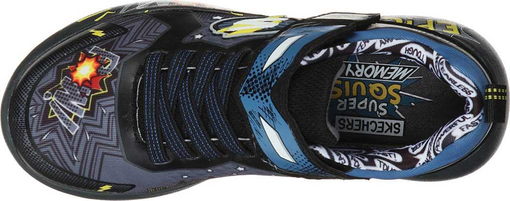 Boys' Skechers Dynamight Defender Squad Sneaker, Charcoal/Black, large, image 4