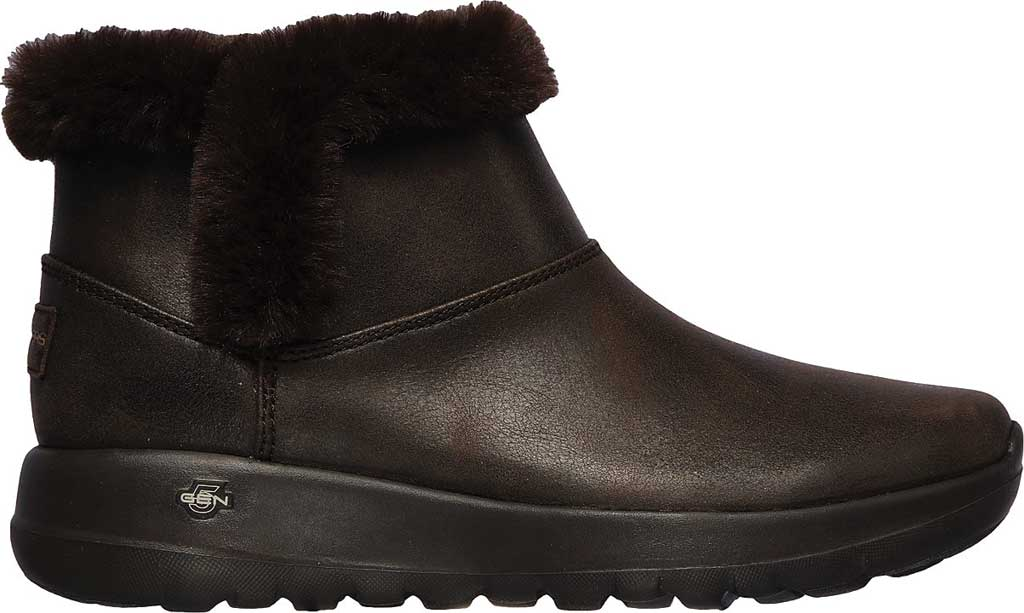 Women's Skechers On the GO Joy Endeavor Ankle Boot, Chocolate, large, image 2