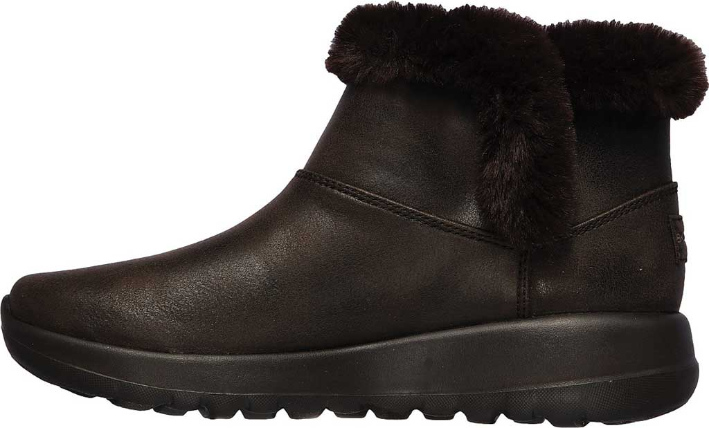 Women's Skechers On the GO Joy Endeavor Ankle Boot, Chocolate, large, image 3