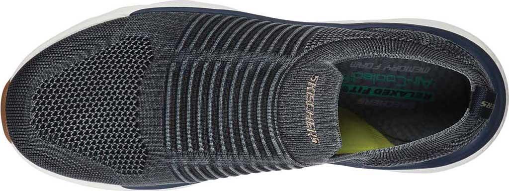 Men's Skechers Relaxed Fit Delmont Jenko Sneaker, Navy, large, image 4