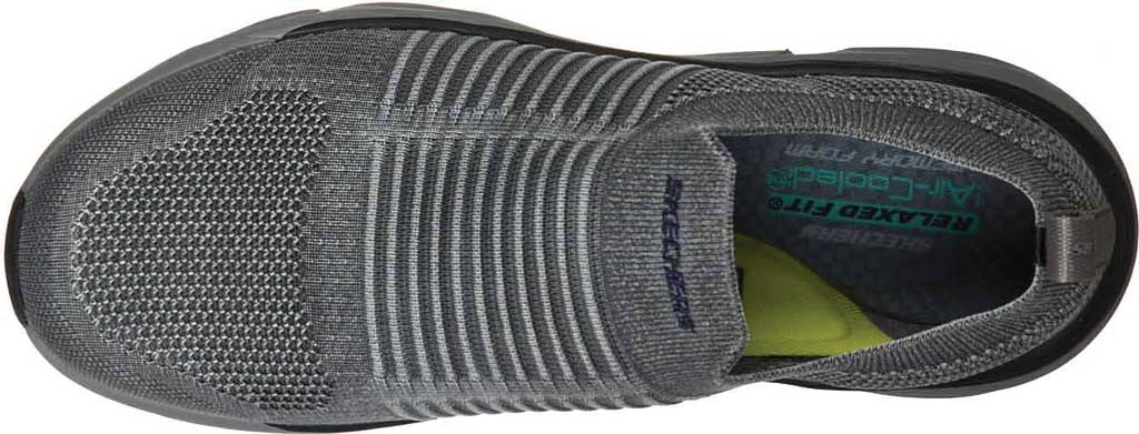 Men's Skechers Relaxed Fit Delmont Jenko Sneaker, , large, image 4