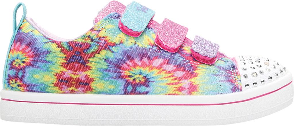 Girls' Skechers Twinkle Toes Sparkle Rayz Sneaker, Multi, large, image 2