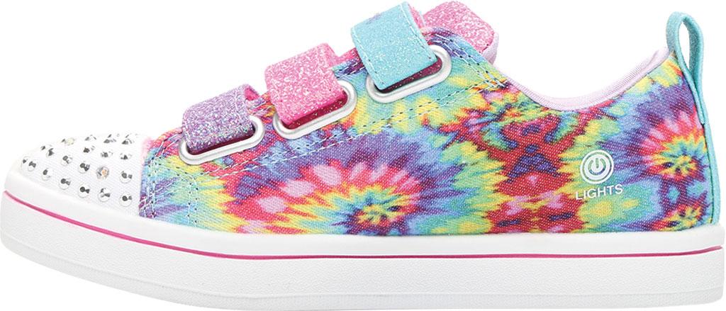 Girls' Skechers Twinkle Toes Sparkle Rayz Sneaker, Multi, large, image 3