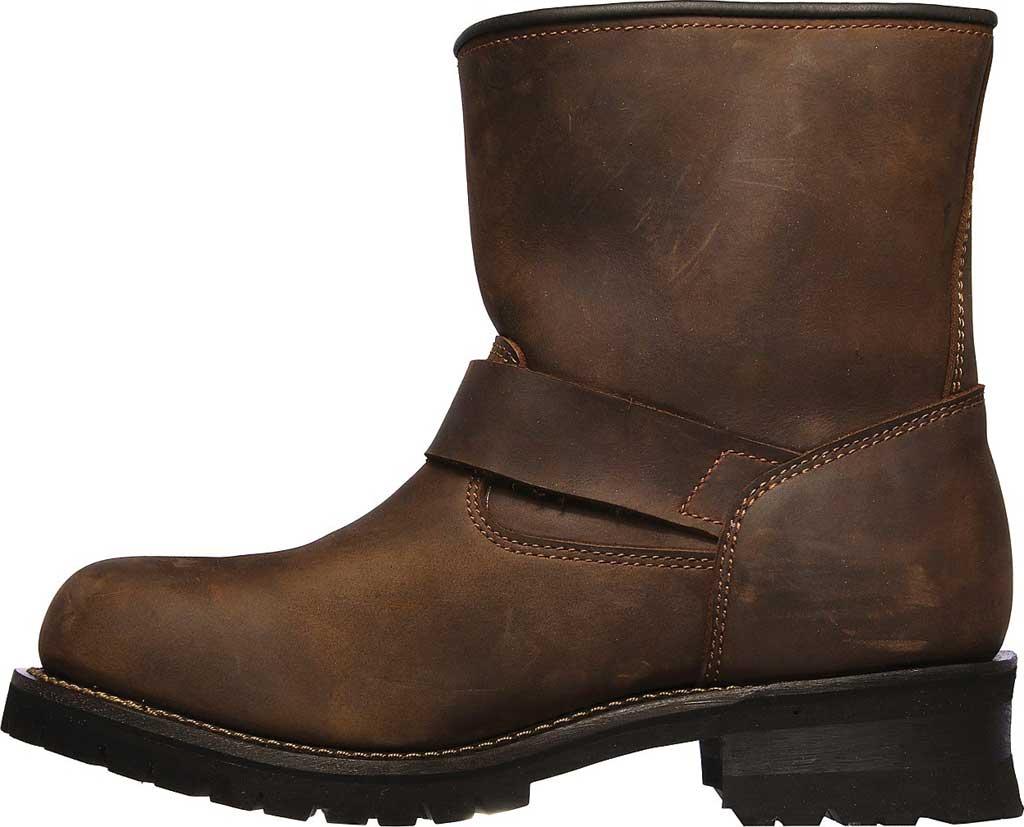Men's Skechers Cascades Talsen, Chocolate Dark Brown, large, image 3