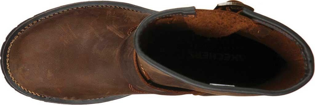 Men's Skechers Cascades Talsen, Chocolate Dark Brown, large, image 4