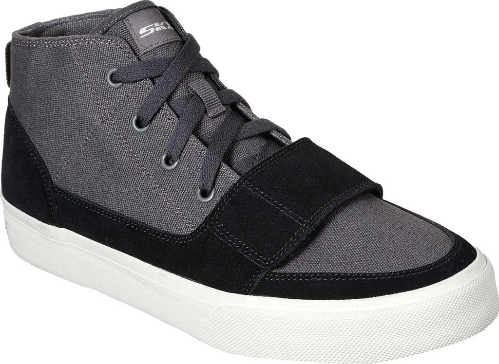 Men's Skechers SC Hickory, Charcoal/Black, large, image 1