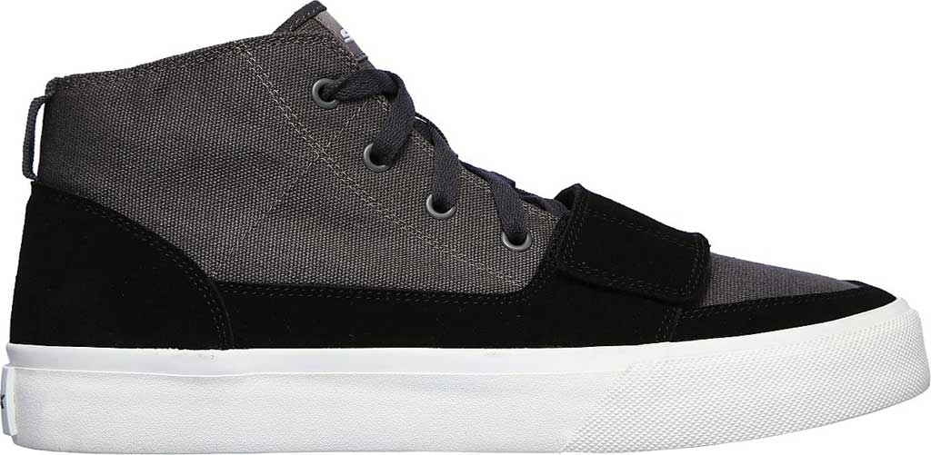 Men's Skechers SC Hickory, Charcoal/Black, large, image 2