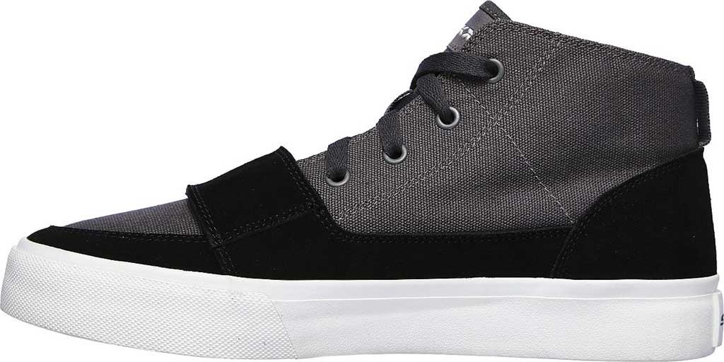 Men's Skechers SC Hickory, Charcoal/Black, large, image 3