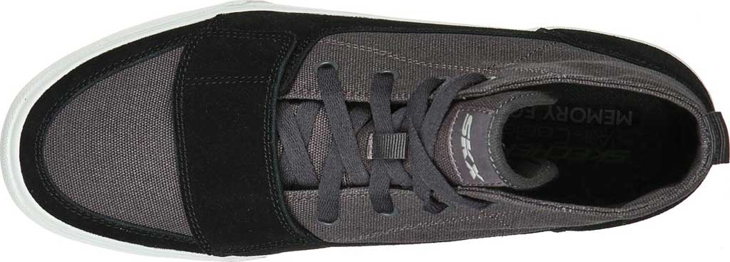 Men's Skechers SC Hickory, Charcoal/Black, large, image 4