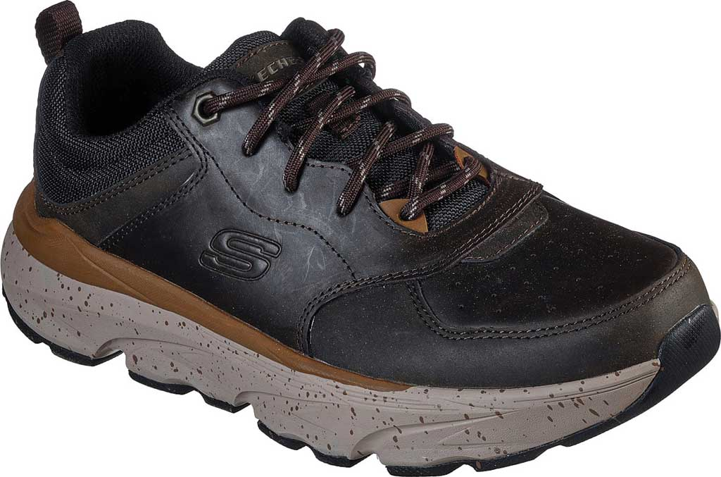 Men's Skechers Relaxed Fit Delmont Rorimer, Cocoa, large, image 1