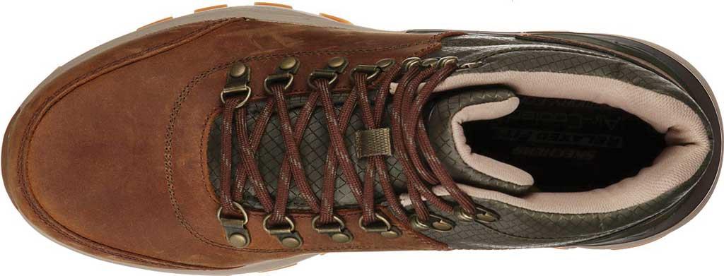 Men's Skechers Relaxed Fit Flywalk Tallken, Brown/Olive, large, image 4