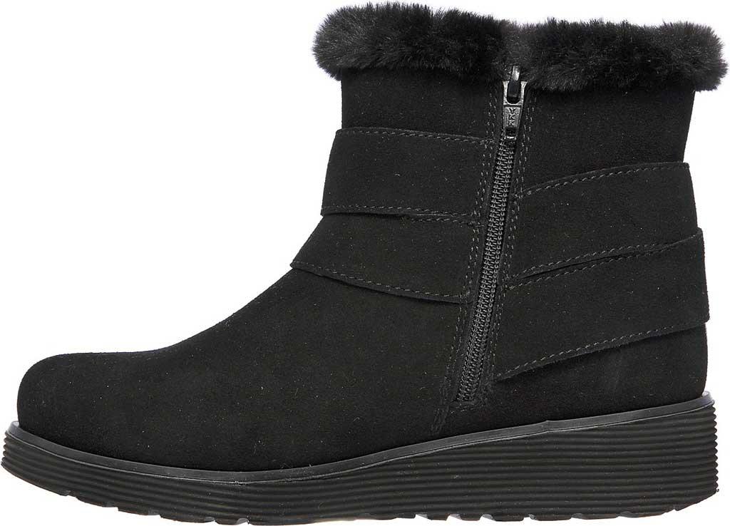 Women's Skechers Keepsakes Wedge Cozy Wraps Winter Boot, Black/Black, large, image 3