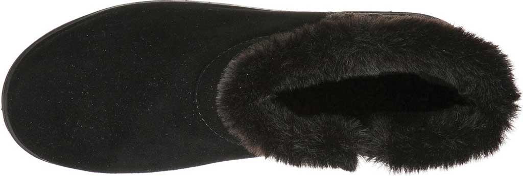 Women's Skechers Keepsakes Wedge Cozy Wraps Winter Boot, Black/Black, large, image 4