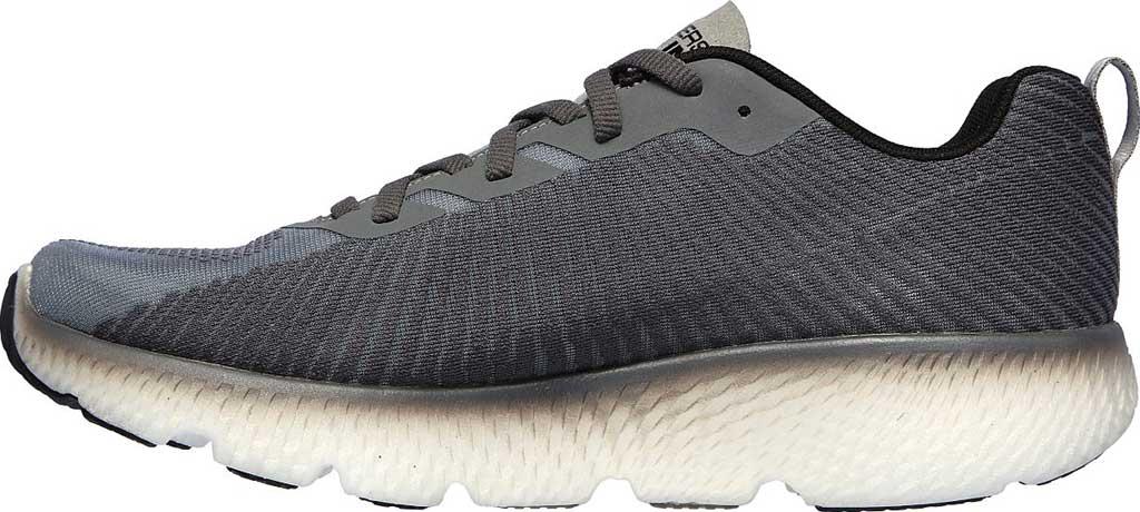 Men's Skechers GOrun MaxRoad 4+, Gray/Black, large, image 3