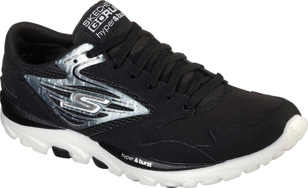 Men's Skechers GOrun OG Hyper, Black/Silver, large, image 1