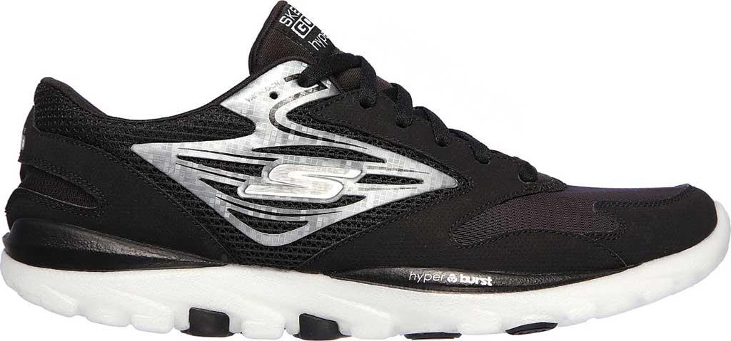 Men's Skechers GOrun OG Hyper, Black/Silver, large, image 2