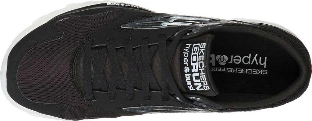 Men's Skechers GOrun OG Hyper, Black/Silver, large, image 4
