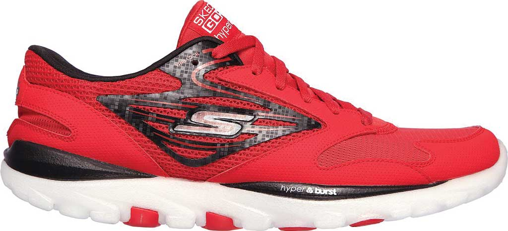 Men's Skechers GOrun OG Hyper, Red/Black, large, image 2