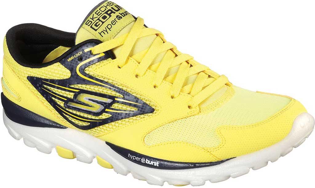 Men's Skechers GOrun OG Hyper, Yellow/Black, large, image 1