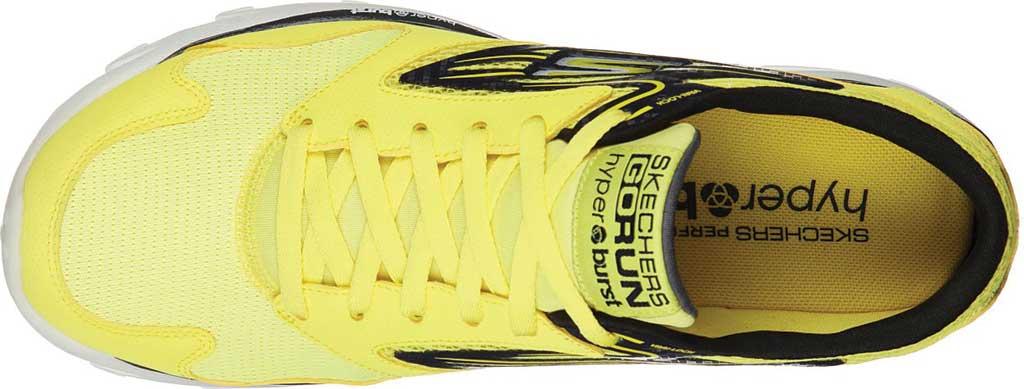 Men's Skechers GOrun OG Hyper, Yellow/Black, large, image 4