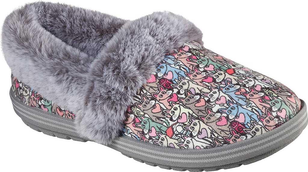 Women's Skechers BOBS Too Cozy Paws Forever Slipper, Multi, large, image 1
