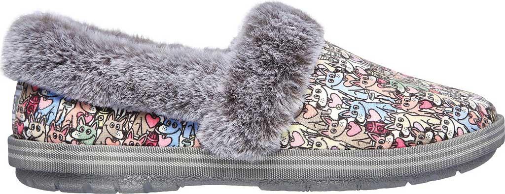 Women's Skechers BOBS Too Cozy Paws Forever Slipper, Multi, large, image 2