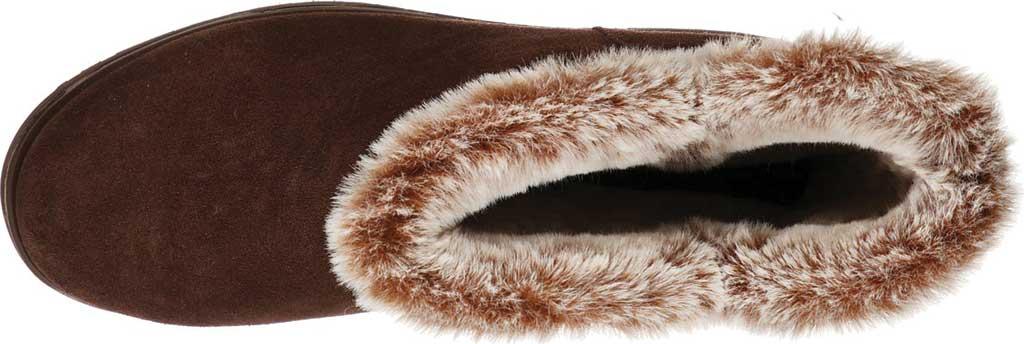 Women's Skechers Keepsakes Wedge Lovely Stud Winter Boot, Brown, large, image 4