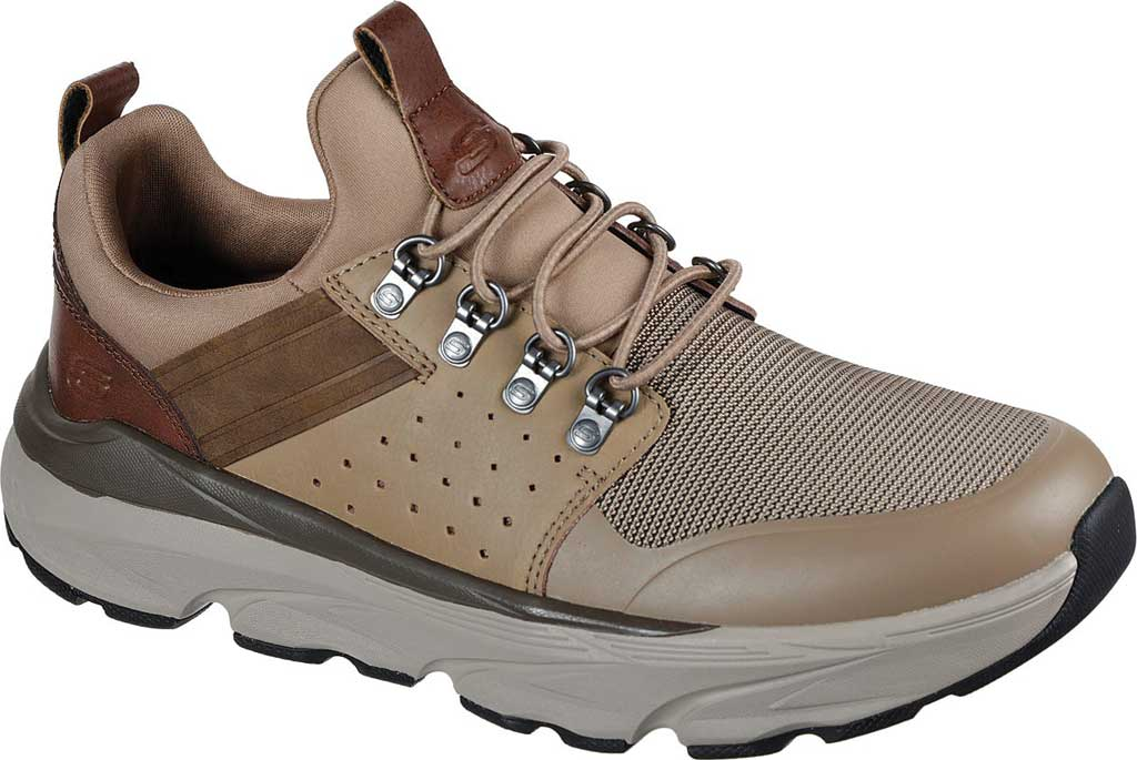 Men's Skechers Relaxed Fit Delmont Escola, Light Brown, large, image 1