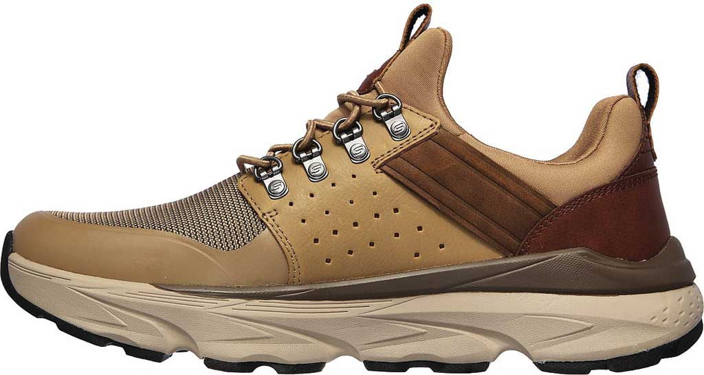 Men's Skechers Relaxed Fit Delmont Escola, Light Brown, large, image 3