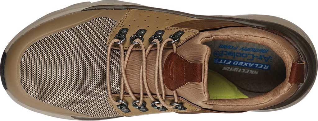 Men's Skechers Relaxed Fit Delmont Escola, Light Brown, large, image 4