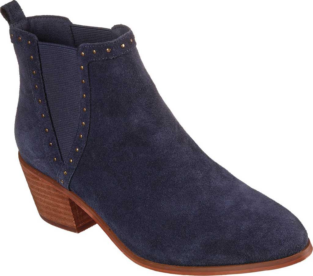 Women's Skechers Tameless Chelsea Boot, Navy, large, image 1