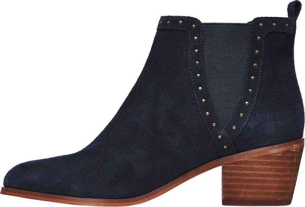 Women's Skechers Tameless Chelsea Boot, Navy, large, image 3