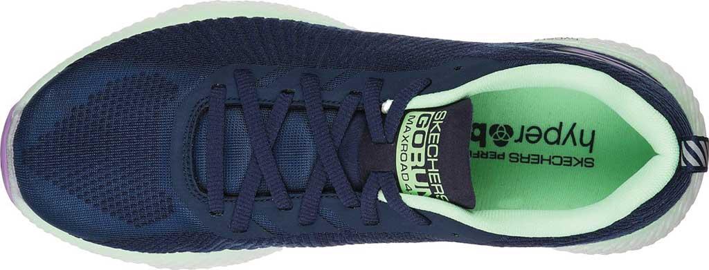 Women's Skechers GOrun MaxRoad 4+ Sneaker, Navy/Multi, large, image 4