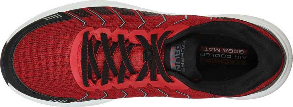 Men's Skechers GOrun Pulse Alanine, Red/Black, large, image 4