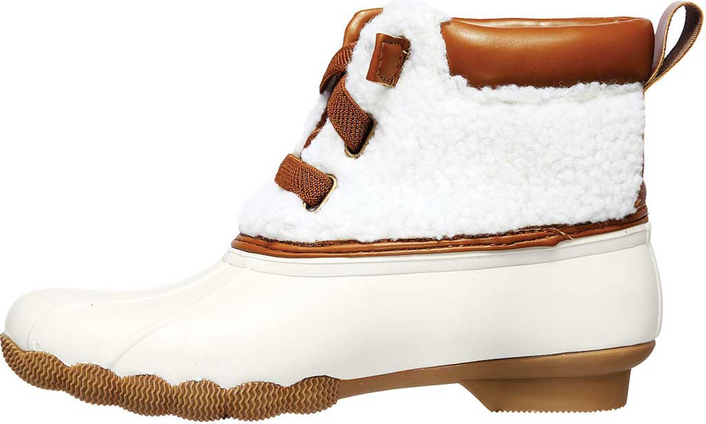 Women's Skechers Pond Sherpa Snuggle Duck Boot, Natural, large, image 3
